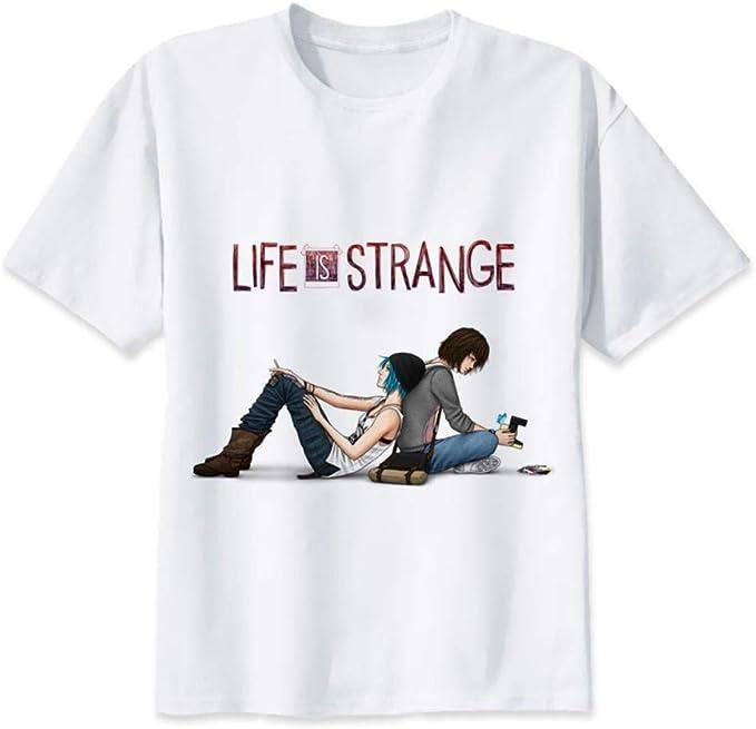 Yuxua Life is Strange Camiseta Hombre Anime Camiseta Hombre ...