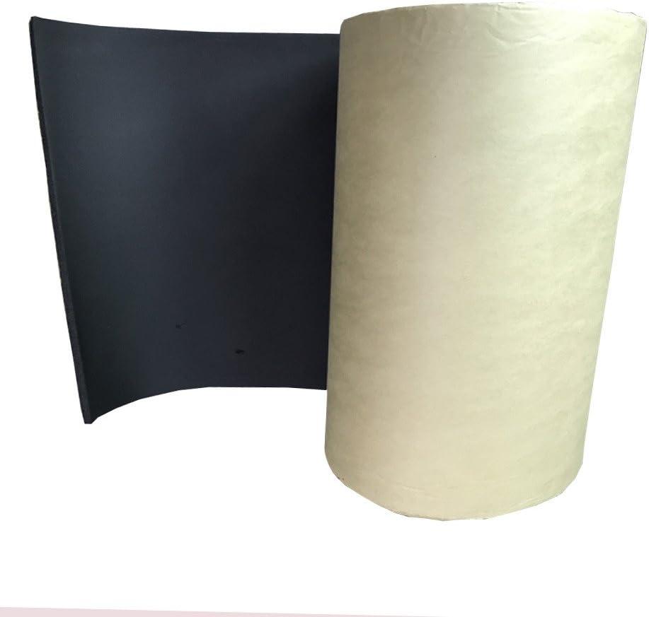 Supmico 2 rotolo auto insonorizzazione isolamento fonoassorbente chiuso Antirombo Antivibrante Foam Adesivo Stuoia 10mm 50cm X 100cm