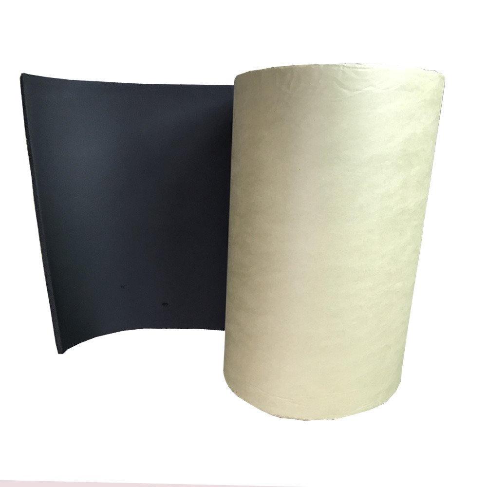 Supmico 2 rotolo auto insonorizzazione isolamento fonoassorbente chiuso Antirombo Antivibrante Foam Adesivo Stuoia 7mm 50cm X 100cm