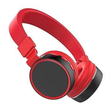 QSJWLKJ Auriculares Bluetooth Auriculares estéreo ...