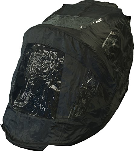 Pet Gear PG8850NZWC No-Zip Expedition Weather Cover - Black