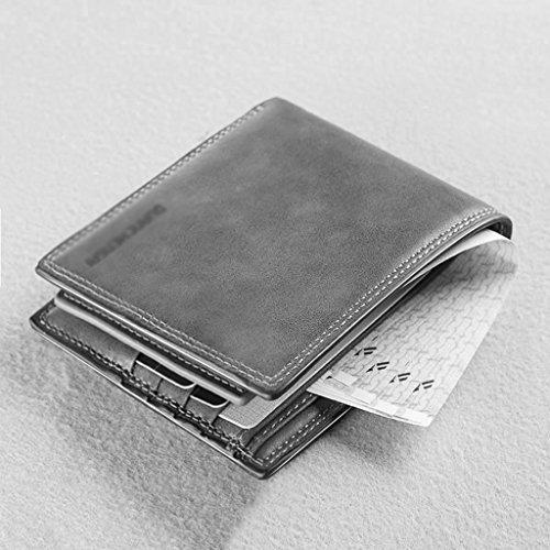 Driver's 5cm Clip Clips section Gray 59 Money Color Men's Wallet Card Brown 11 51 Size Cross Wei Home Multi Hong Youth Money Wallet Wallet XTtnw66OB