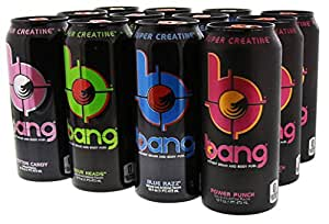 Amazon.com: VPX Bang Variety Pack 1 RTD 12 per Case - 16