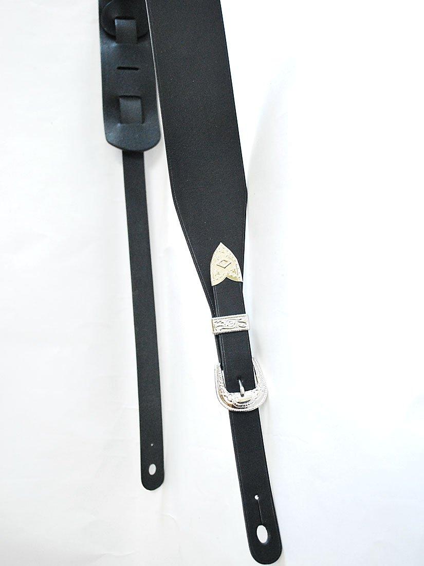 クラシック JAJABOON 牛革 ジミヘン モデル モデル B00J9ZAESK ジミヘン ギターストラップ ブラック (シルバーバックル) 本革(レザー)製 B00J9ZAESK, 我流工房101:ce9a65f6 --- demo.koveru.com