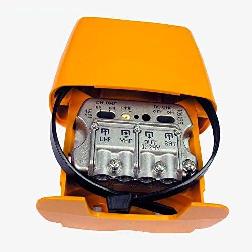 Televes Amplificador de Mástil de 26Db con Mezcla de Fi ...
