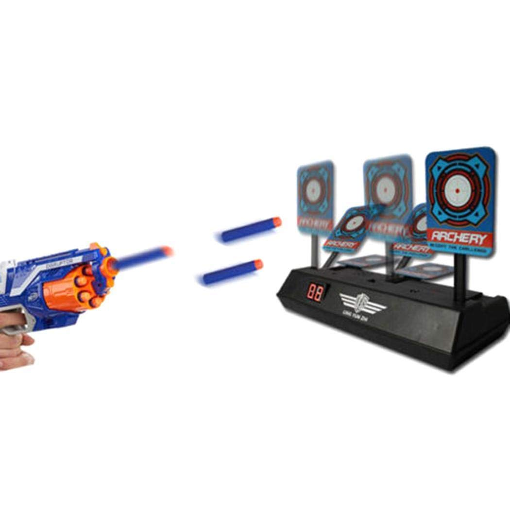6c5838c74 ICCUN Electronic Scoring Target for Nerf N-Strike Elite/Mega/Rival Series  Kids Toy Auto-Reset Intelligent Light Sound Effect Scoring Target for Mega  and ...