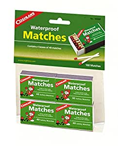 Coghlan's 940BP Waterproof Matches,  4 pack