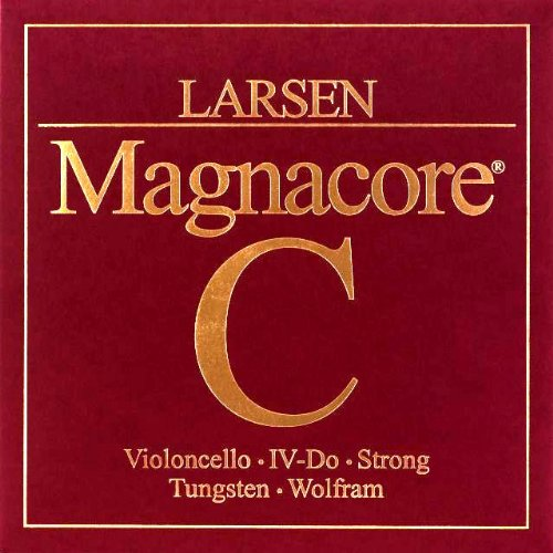 Larsen Magnacore Cello C String - Tungsten Wound Steel Core - Strong Gauge