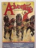 img - for ADVENTURE APRIL 1ST 1933 VOL. LXXXVI NO. 2 [