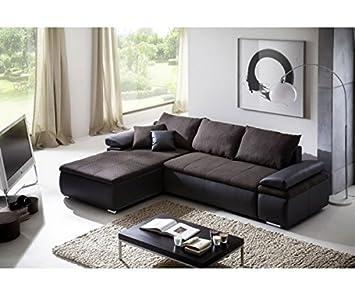 Celina schwarz Couchgarnitur Wohnlandschaft Sofa Wohnzimmercouch ...