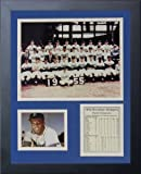 "Legends Never Die ""1955 Brooklyn Dodgers"" Framed Photo Collage, 11 x 14-Inch"