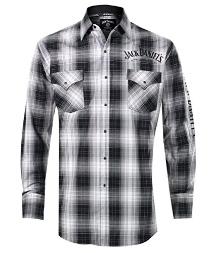 jack-daniels-mens-embroidered-and-grey-plaid-western-snap-shirt-black-x-large