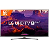 "Smart TV 4K 55"", Painel IPS 4K UHD, ThinQ AI, webOS 4.0, Design Ultra Slim, DTS Virtual X, Sound Sync, HDMI USB, LG, 55UK6530PSF"