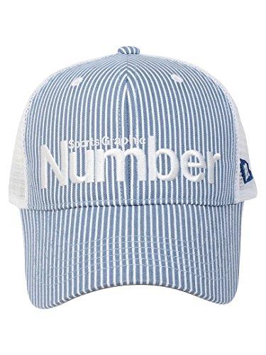 (ナンバー) Number ヒッコリーデニムキャップ FREE グレー