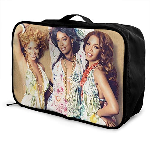 MDECTTHY Destiny's Child Travel Duffel Bag For Weekend Bag Overnight Carry On Packable Large Capacity Portable Luggage Bag