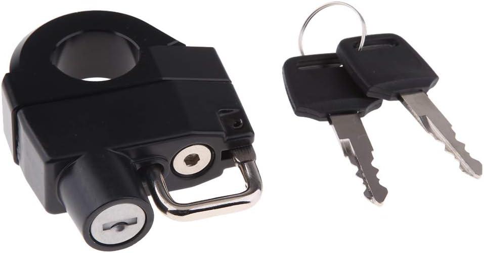 Gazechimp 25mm Motorcycle Handlebar Helmet Lock for YAMAHA Star Bolt XVS 1300 2014-2017