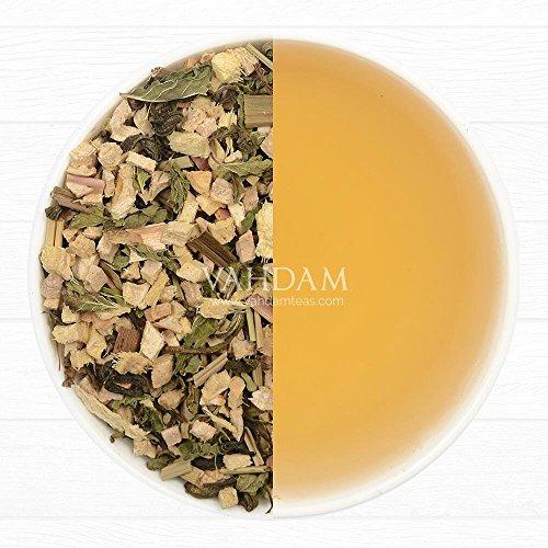 Review Ginger Mint Green Tea