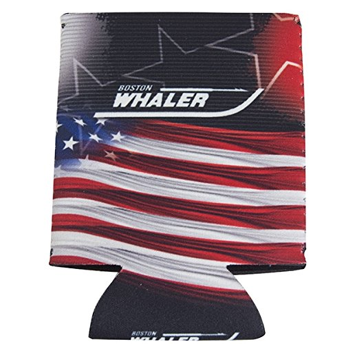 Boston Whaler American Flag Collapsible Beverage Can Koozie