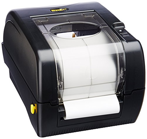 Wasp WPL305 Monochrome Direct Thermal Label Printer with Reflective Media Sensor, 5 in/s Print Speed, 203 dpi Print Resolution, 4.25