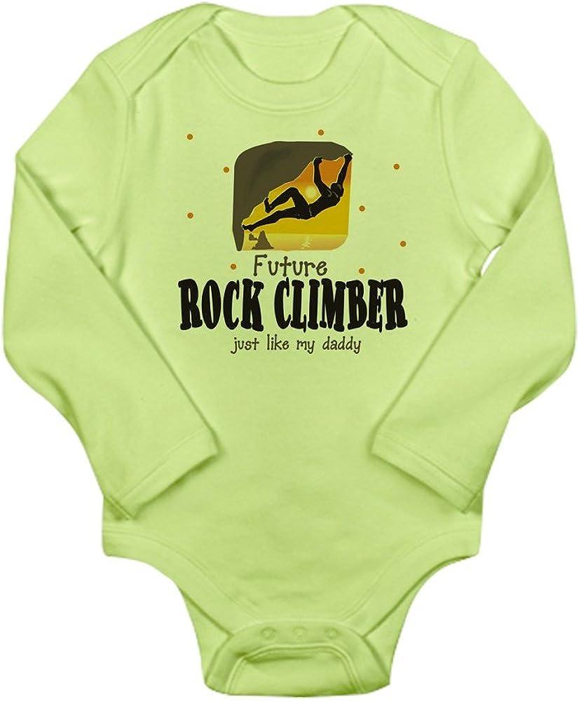 CafePress Rock6 Body Suit Cute Long Sleeve Infant Bodysuit Baby Romper