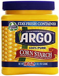 Argo 100% Pure Corn Starch, 16 Oz