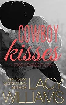 Cowboy Kisses: three contemporary cowboy romances (Heart of Oklahoma) by [Williams, Lacy]