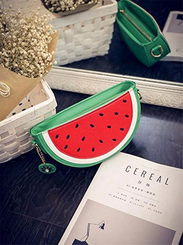 Latest Novelty Cute Watermelon Shape Shoulder Mini Bag for Women Photo #7