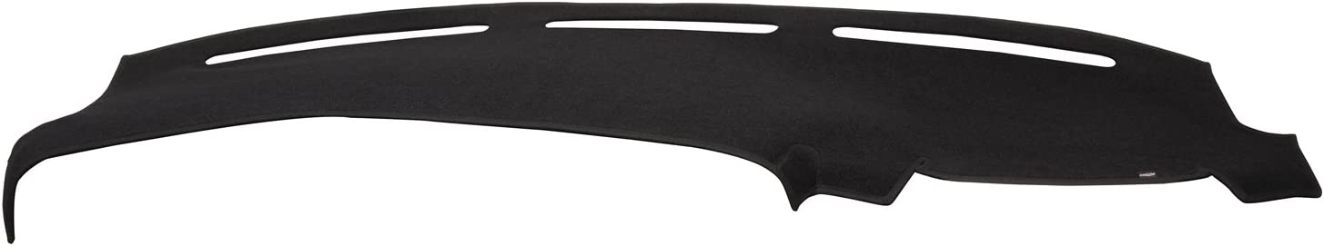 DashMat Original Dashboard Cover Toyota Corolla (Premium Carpet, Black) - 1816-00-25