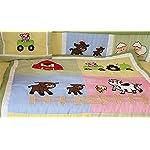 BabyFad-Barnyard-10-Piece-Baby-Crib-Bedding-Set
