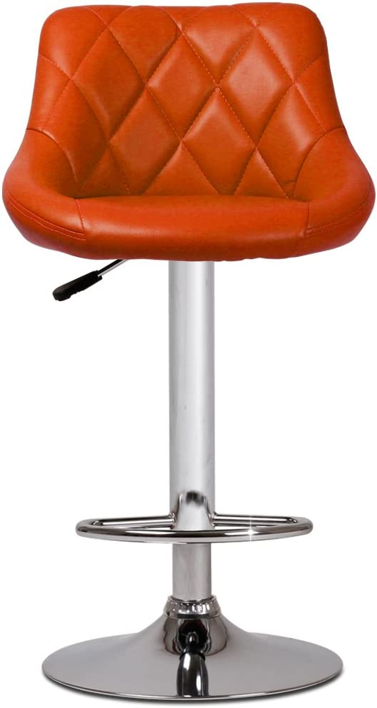 Miadomodo LBHK04 Orange Bar Stool