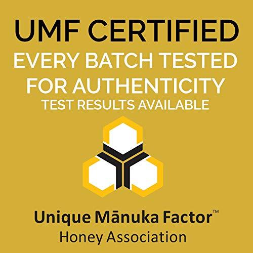 Manukora UMF 15+/MGO 500+ Raw Mānuka Honey (250g/8.8oz) Authentic Non-GMO New Zealand Honey, UMF & MGO Certified, Traceable from Hive to Hand by Manukora (Image #6)