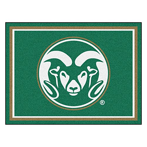 FANMATS 20136 Colorado State 8'X10' Rug, Team Color, 87''x117'' by Fanmats