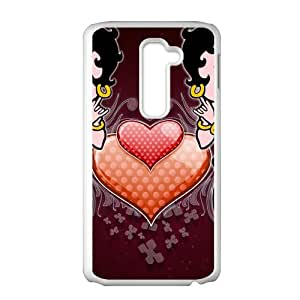 HUAH Betty Boop Cell Phone Case for LG G2