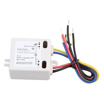 BQLZR XD-609 4 Modus Ein / Aus Touch Schalter Sensor F¨¹r 220V ...