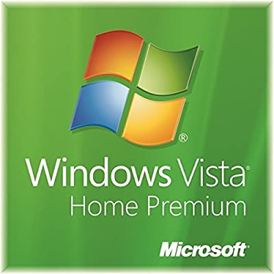 Microsoft Windows Vista Home Premium SP2 32-Bit DVD + Genuine Product Key