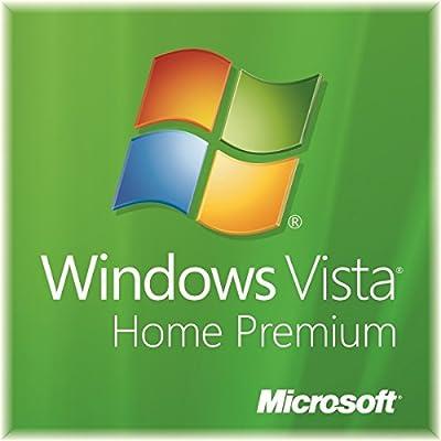 Microsoft Windows Vista Home Premium SP2 64-Bit DVD + Genuine Product Key