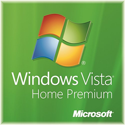Microsoft Windows Vista Home Premium SP2 64-Bit DVD + Genuine Product Key (Windows Vista Home Premium 64 Bit)