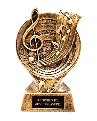 - Music Treasures Clef Music Resin Award