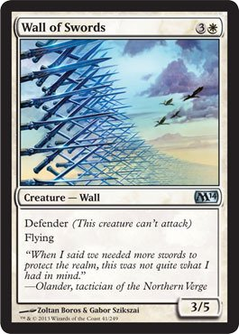 Magic: the Gathering - Wall of Swords - Magic 2014