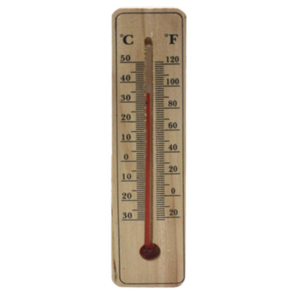 Hacloser Wall Hang Thermometer Indoor Outdoor Garden House Garage Office Room Hung Logger