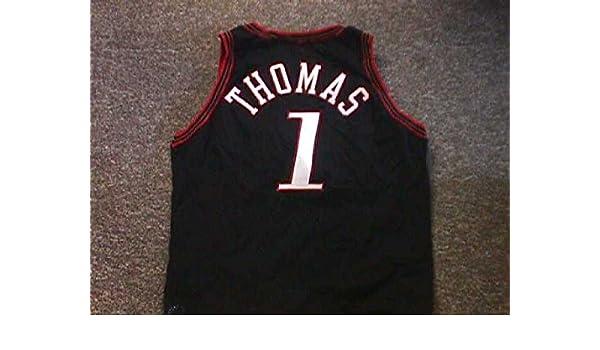 Tim Thomas Philadelphia 76ers Black Road Game Jersey at Amazon s Sports  Collectibles Store c75c29408