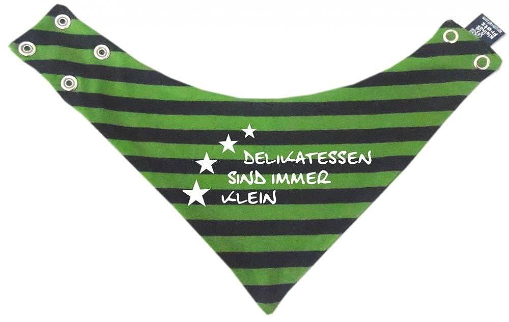 KLEINER FRATZ gestreiftes Baby Halstuch Minirocker/in 5 Designs/Größen 0-36 Monate und Kinder Wende