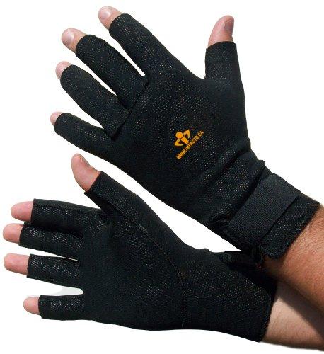 Impacto TS19950 Anti-Fatigue Thermo Glove, Black by Impacto