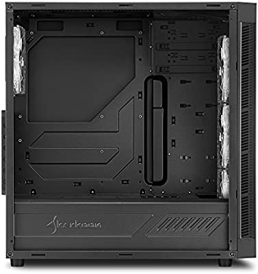 Sharkoon TG5 - Caja de Ordenador, PC Gaming, Semitorre ATX, Negro/Blanco: Sharkoon: Amazon.es: Informática