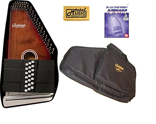 Oscar Schmidt 21 Chord/11 Key A/E Autoharp, Select Maple, OS21CE by Oscar Schmidt