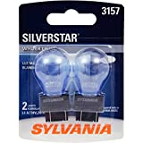SYLVANIA 3157 SilverStar High Performance Miniature Bulb, (Contains 2 Bulbs)