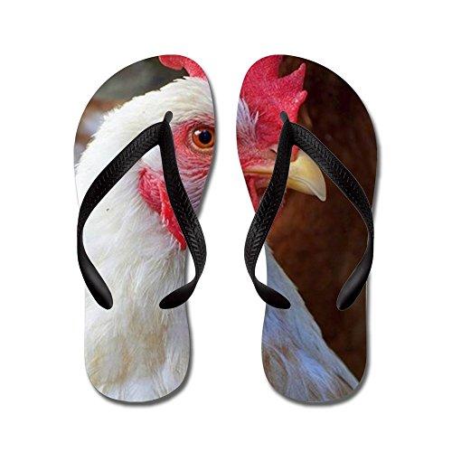 f5933c01a CafePress - Italian Chicken - Flip Flops