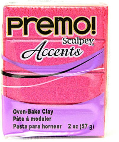 Sculpey Premo Premium Polymer Clay (Magenta Pearl) [4 Pieces] *** Product Description: Sculpey Premo Premium Polymer Clay- Color: Magenta Pearl- Size: 2 Oz.This Remarkable Clay Quickly Reaches A Workable State (With Minimum Conditioning), And Rem ***