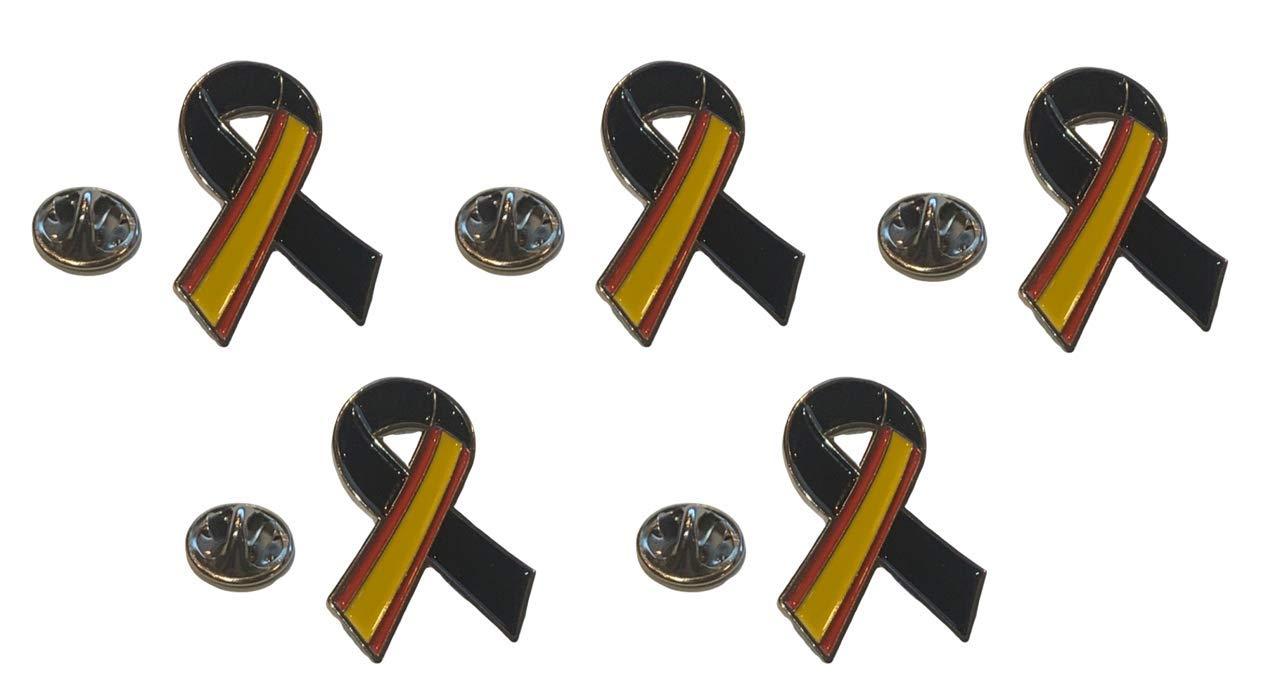 Pack 2 Parches Termoadhesivo Lazo Negro Bandera de España 7x5cm: Amazon.es: Hogar