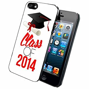 Graduating Senior Class of 2014 Case Back Cover (iPhone 5/5s - Rubber)